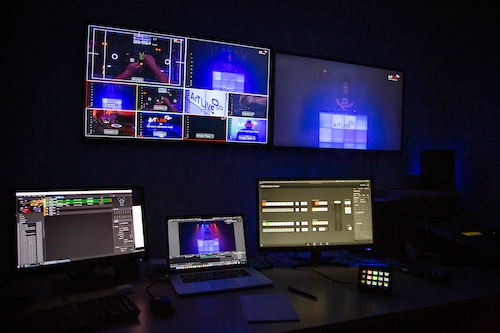 Medienproduktion Live-Streaming